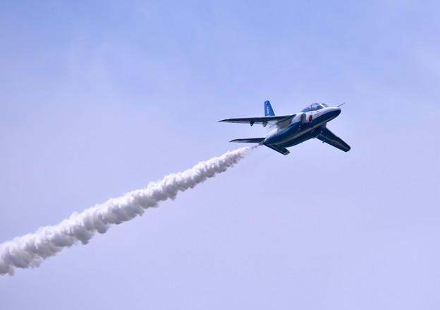 東松島夏まつり。。地元の町の復興願い飛ぶブルーインパルス