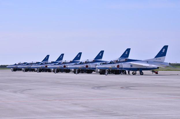 松島基地 復興航空祭。。ブルーインパルスホームベース 20170827