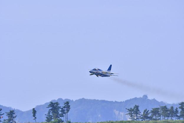 松島基地復興航空祭。。オープンニングで上がりブルーインパルス 20170827