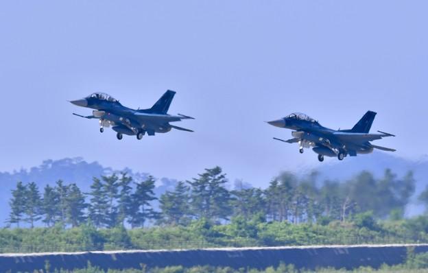 松島基地復興航空祭 復活した第24飛行隊F-2B 20170827