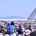 写真: 航空学生を乗せて帰路へ。。KC-767。。タキシング中(^^)