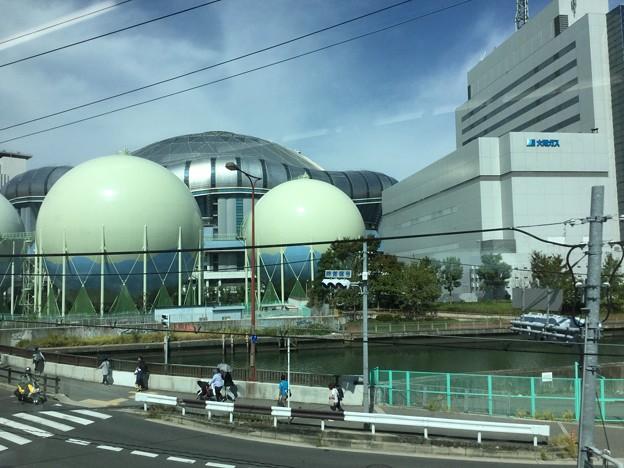 Photos: 撮って出し。。大阪環状線に乗って散歩。。大阪ドーム見ながら 10月1日