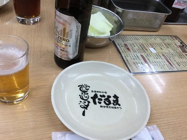 Photos: 撮って出し。。大阪の下町へ元祖串カツ屋 だるまへ。。2度漬け禁止(^^) 10月1日