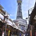 撮って出し。。大阪環状線から途中下車で通天閣散歩 10月2日