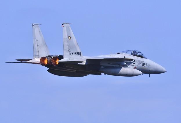 三沢基地航空祭。。挨拶がわりの高速ローパス 千歳のイーグル