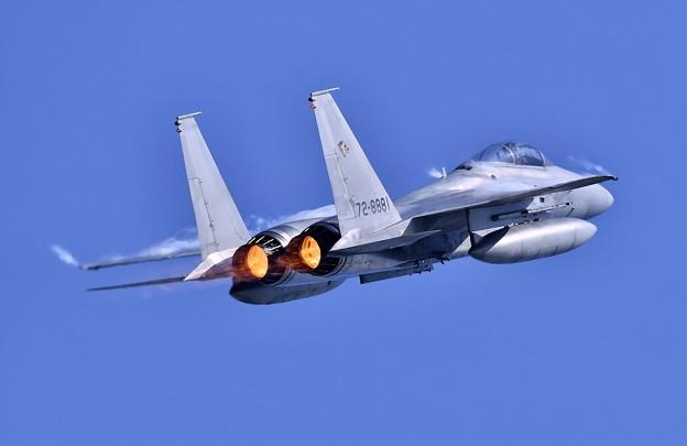 三沢基地航空祭。。三沢の青空へアフターバーナー出して。。