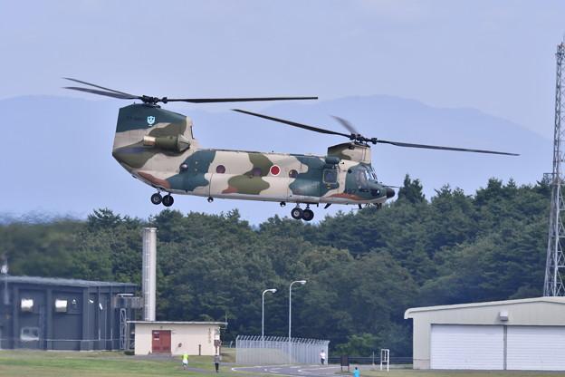 航空祭終えて翌日。。朝から訓練開始CH-47チヌーク