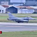 Photos: 午後の三沢基地。。ローカルから帰投米空軍F-16。。