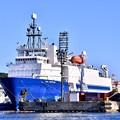 米軍横須賀基地に珍しいアメリカの海洋調査船SEA VENTURE 寄港中 20170918