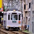 大阪 新世界からレトロ路面電車 阪堺電気軌道 20171001