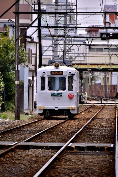 大阪ゆっくりとコトンコトンと音立てて阪堺線 20171001