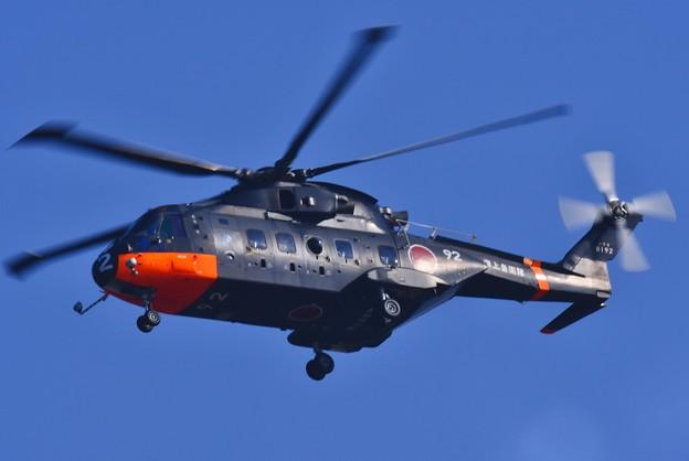 海上自衛隊南極砕氷艦しらせの搭載ヘリコプター 20171009