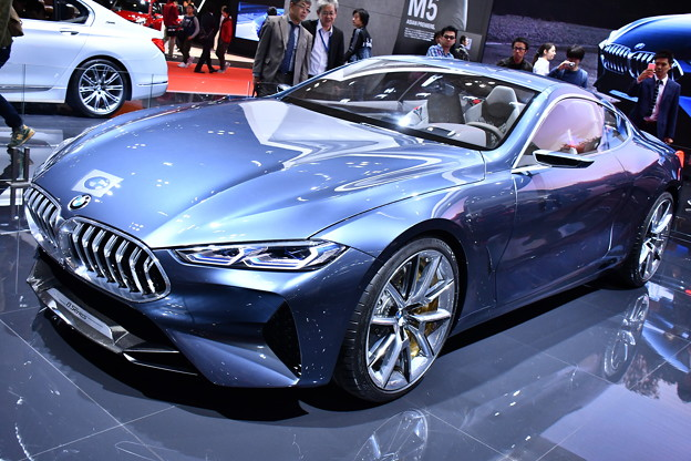 BMWブース。。8シリーズ 20171030