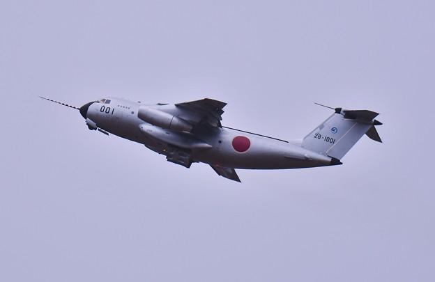午後 飛ばないと思っていたC-1FTB ほんと最後の飛行へ