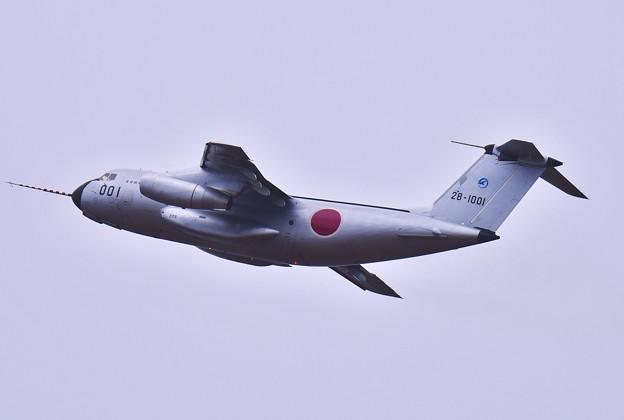 岐阜基地航空祭の飛行キャンセルしていた飛行開発実験団C-1FTB