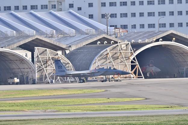 在日米軍基地極東最大の基地にZZイーグル休む 20171122