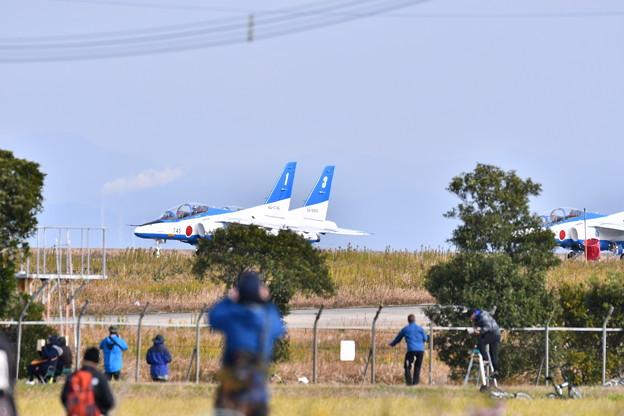 築城基地航空祭予行練習 ブルーインパルステイク・オフ