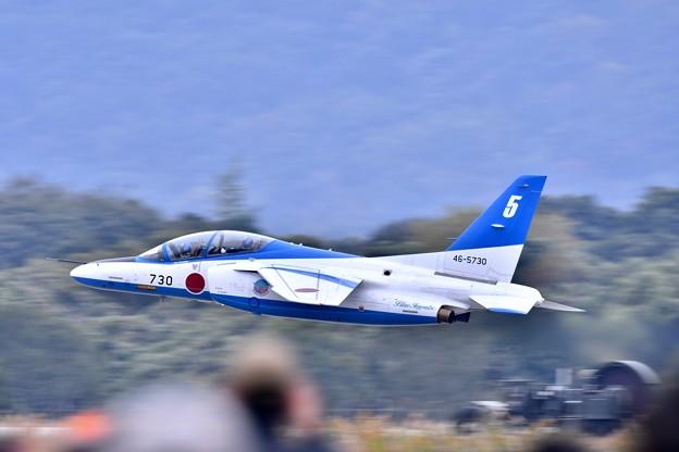 築城基地航空祭。。超低空テイク・オフ5番機リーダーソロ