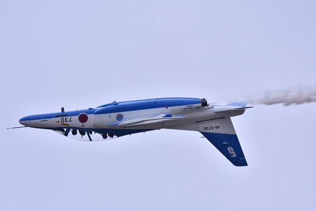築城基地航空祭。。5番機背面飛行ローパス