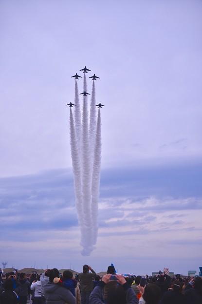 築城基地航空祭。。築城の空を彩るクリスマスツリー飛行