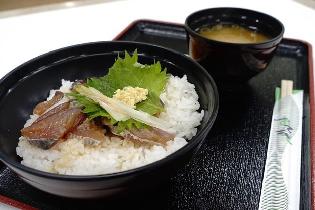 Photos: 清水鯖のづけ丼(高知道【下り】・南国SA)