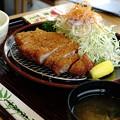 Photos: 麦豚ロースとんかつ定食(上信越道【下り】・横川SA)