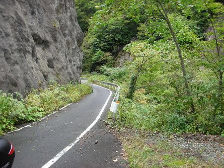 R482不通区間途中・兵庫県方向