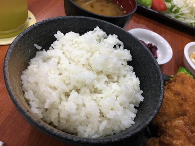 ダウンタウン「あないも」のヒレカツ定食 (9)