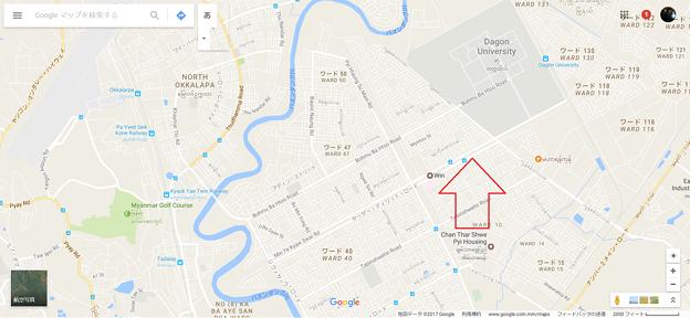 イーストダゴン 地図