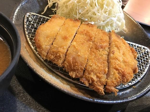 まつのや トンカツ定食 (7)