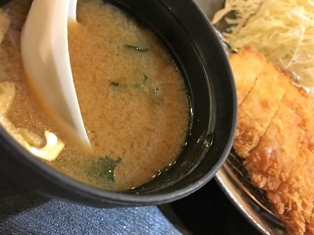 まつのや トンカツ定食 (9)