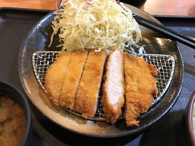 まつのや トンカツ定食 (10)