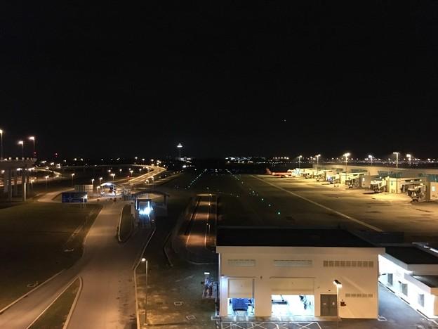 クアラルンプール空港の喫煙場所 (1)