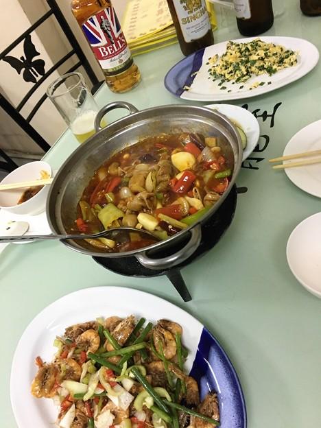 バンコク 紅燈籠 料理 (10)
