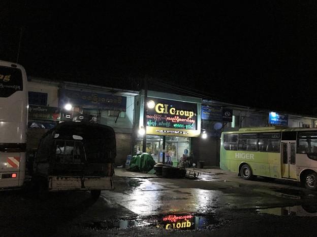 ヤンゴン GIバス
