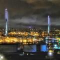 City bridge HDR photo