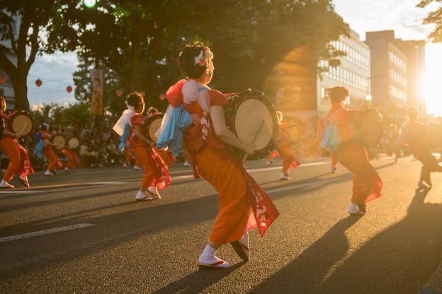 写真: 盛岡さんさ踊り