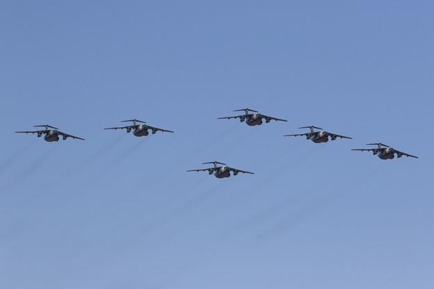 C-1&U-4飛行展示1