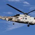 写真: SH-60K帰投