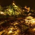 写真: 独鈷の湯夜景 ~修善寺温泉~