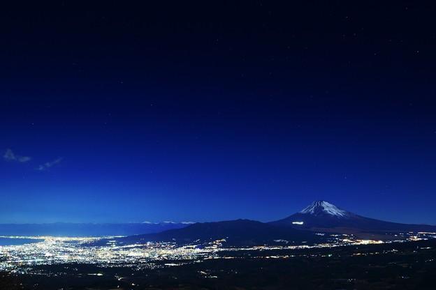 写真: 夜空ノムコウ・・・
