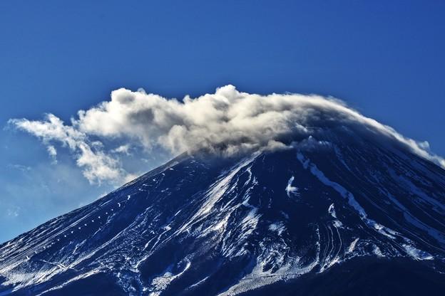 写真: 氷点下3度の風景 ~Cloud~