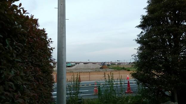 写真: 圏央道が渋滞なの!? 道の駅ごかで撮った眺め