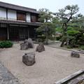 元仲田邸くらやしきの日本庭園