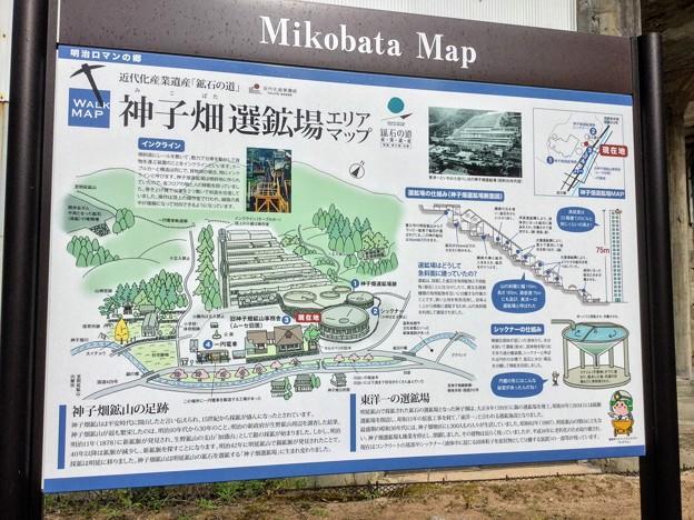神子畑選鉱場 全体図