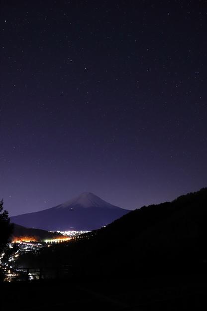 写真: 御坂の空