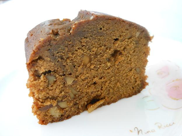 足立音衛門*珈琲 山のクルミのケーキ4