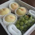 岡山の桃&シャインマスカット2