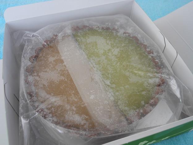 伊藤久右衛門*ゆめふたば(宇治抹茶チーズケーキ・ほうじ茶チーズケーキ)2