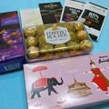 タイの空港免税店で買ったチョコレート